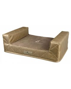 Ligbed lounge love&respect goud 60x40 cm