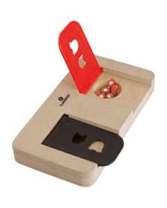 Brain Trainer Hout Riddle 22x12 CM