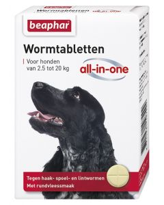 Beaphar Worm All-In-One 2.5 - 20 KG